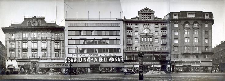 kozma lajos / magyar divatcsarnok . budapest. hungary /// 1934-35.