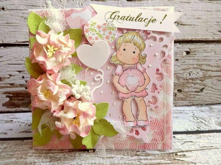 SZMEK - informuje, tworzy, inspiruje ...: Kartka dla przyszłej mamy