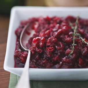 ... ginger and orange mint cranberry champagne jam with ginger cranberry