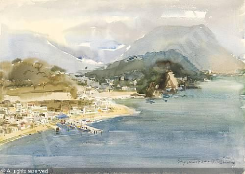 PREKAS Paris,View of Parga,Bonhams,London