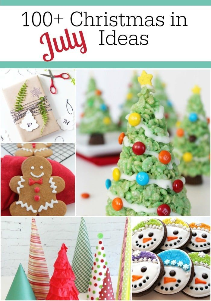 Christmas in July tips, tricks, recipes, crafts and ideas!