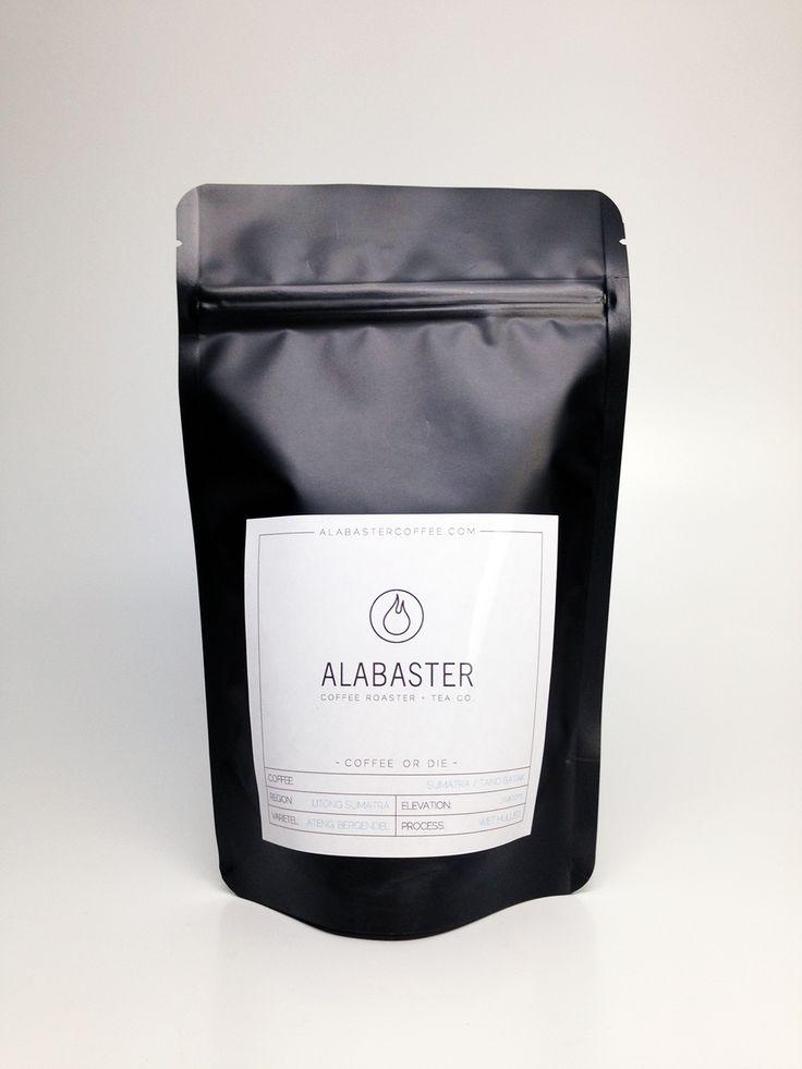 Alabaster Coffee Roaster + Tea Co. — The Dieline - Branding & Packaging