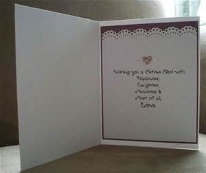 Wedding Shower Gift Card Verses : ... Verses on Pinterest Card sayings, Sympathy cards and Sympathy card