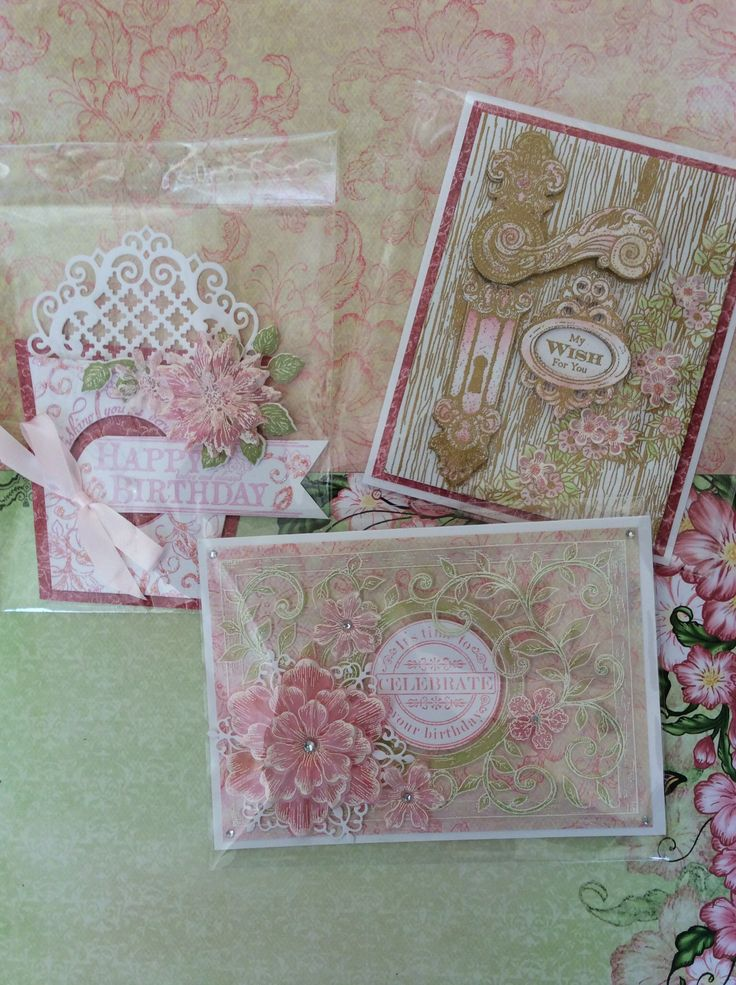 Heartfelt Creations stamps dies and paper pads
