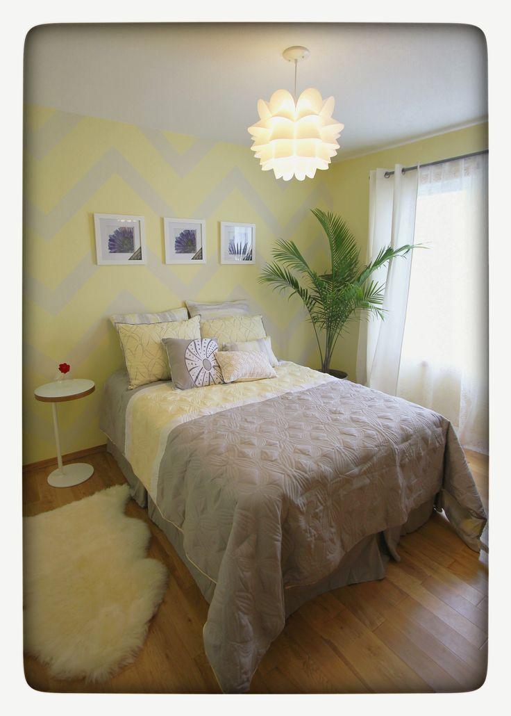 Chevron bedroom