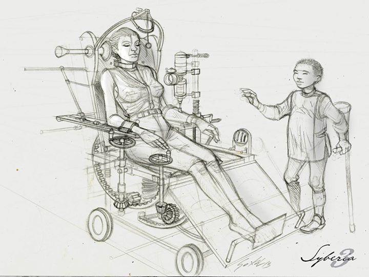 Syberia 3 Illustration 4