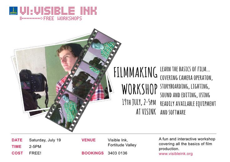 filmmaking workshop poster