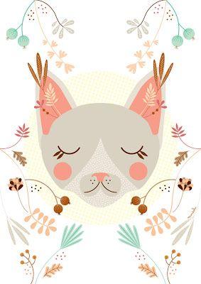 purrfect cat illustration...