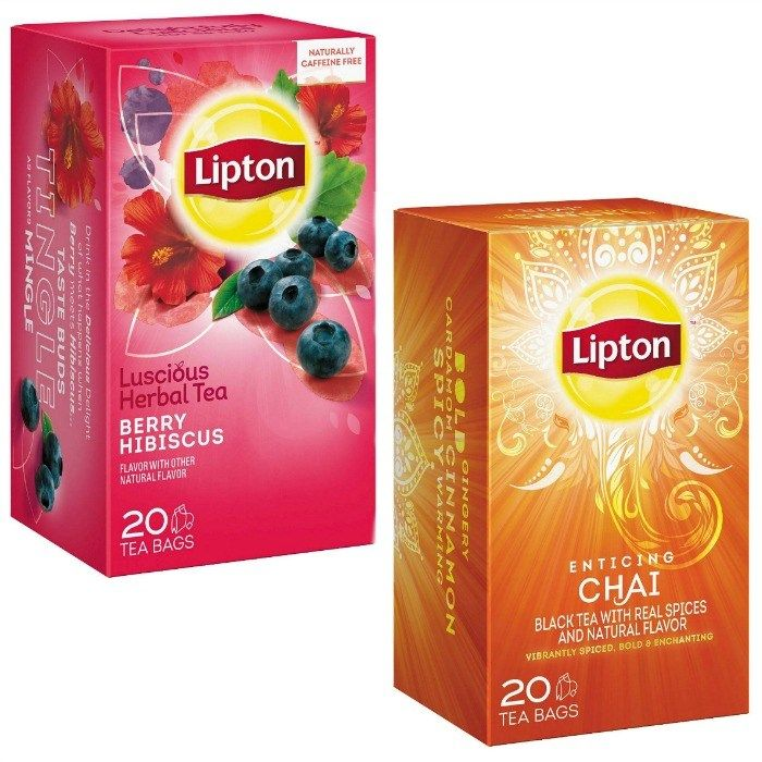 Lipton Specialty or Green Tea Bags Just $0.60 At Target!