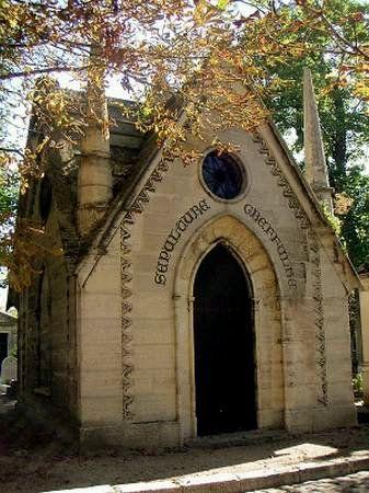 La première chapelle funéraire du Père-Lachaise (1810)