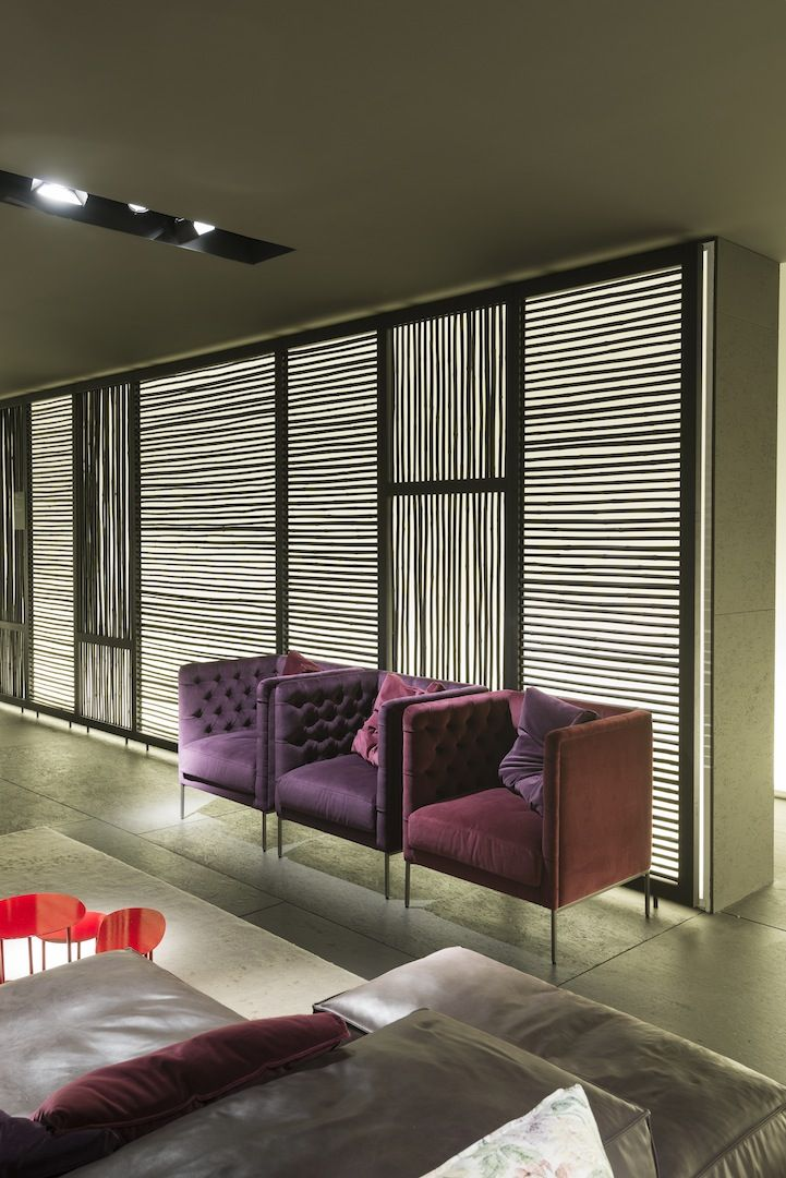 Lipp armchair design Piero Lissoni