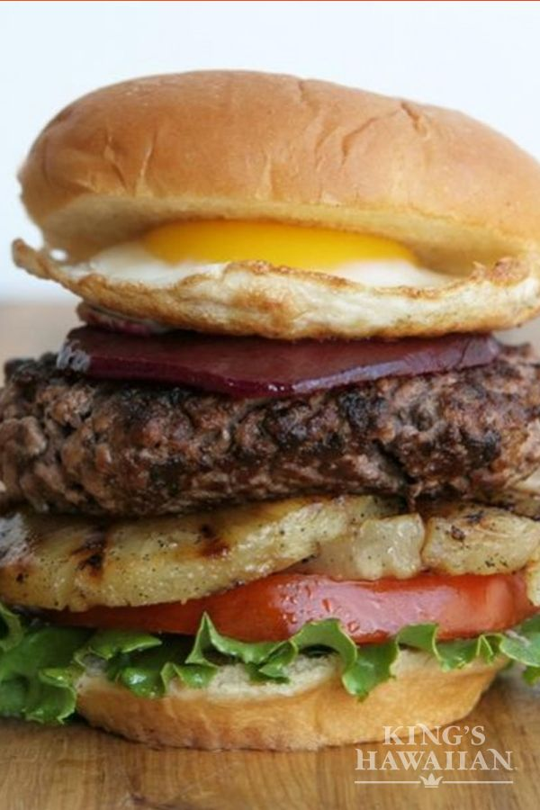 When it comes to burgers, the bigger, the better. Our Aussie Burger is beefed up with grilled pineapple, Asian chili paste, and a fried egg.