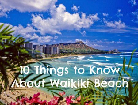 Oahu Hawaii Waikiki Beach