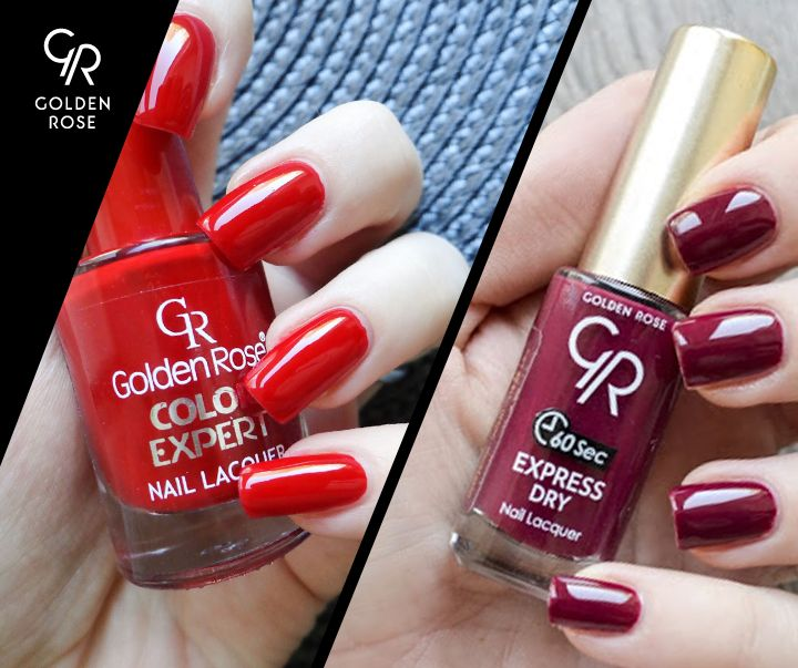 Drapieżna czerwień, czy stonowane czerwone wino?  Zobaczcie recenzję lakierów Color Expert i Express Dry od Goodtotry!  http://goo.gl/kZ4U94 i http://goo.gl/JStGxh