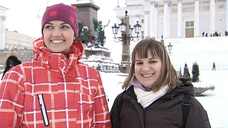 We enjoy the services, nature and sights, say repeat visitors Veronika Orav and Maria Lehema.