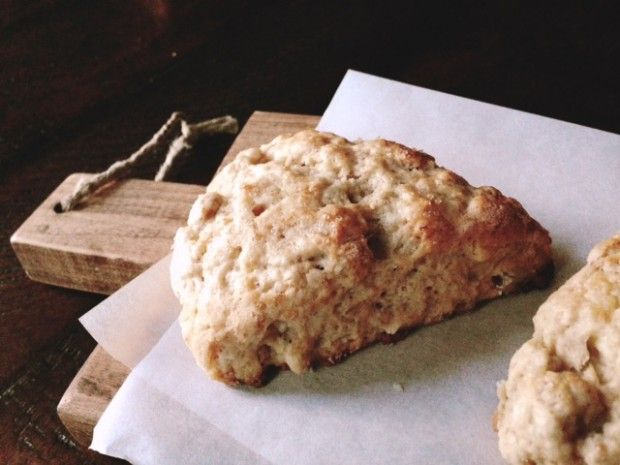 Banana Walnut Scones from www.injennieskitchen.com