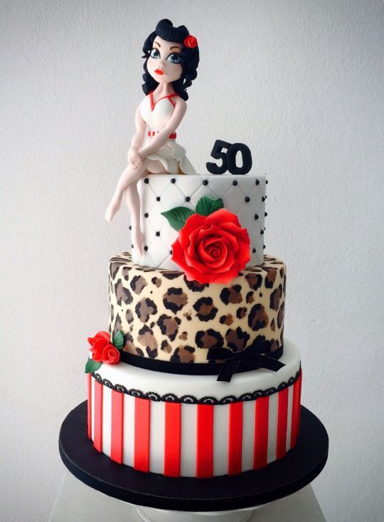 Pin-up cake