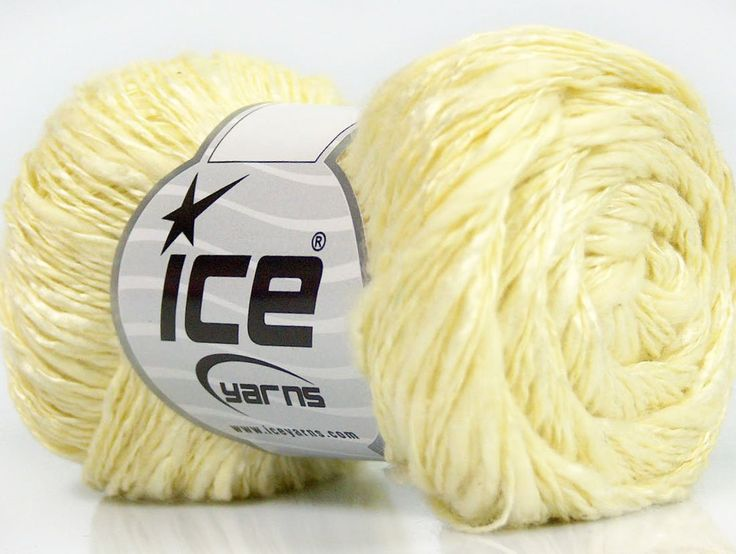 Limited Edition Spring-Summer Yarns Viskon Yazlık  Pamuk Flamme Natural Yarn Fine Weight Açık Sarı  İçerik 60% Pamuk 40% Viskon Light Yellow Brand ICE fnt2-41424