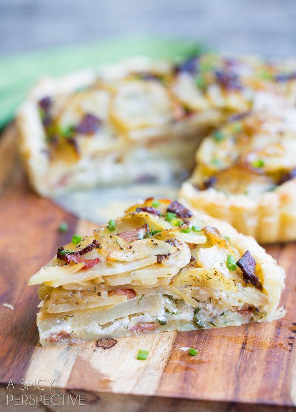 Awesome Irish Potato Pie #irish #stpaddysday #potatoes