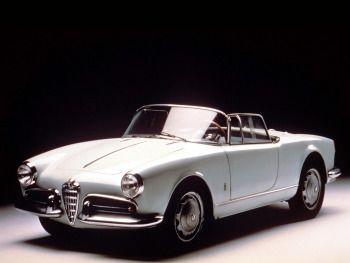"""Alfa Romeo Giulietta Spider Prototipo """"America"""" (750) '1955"""