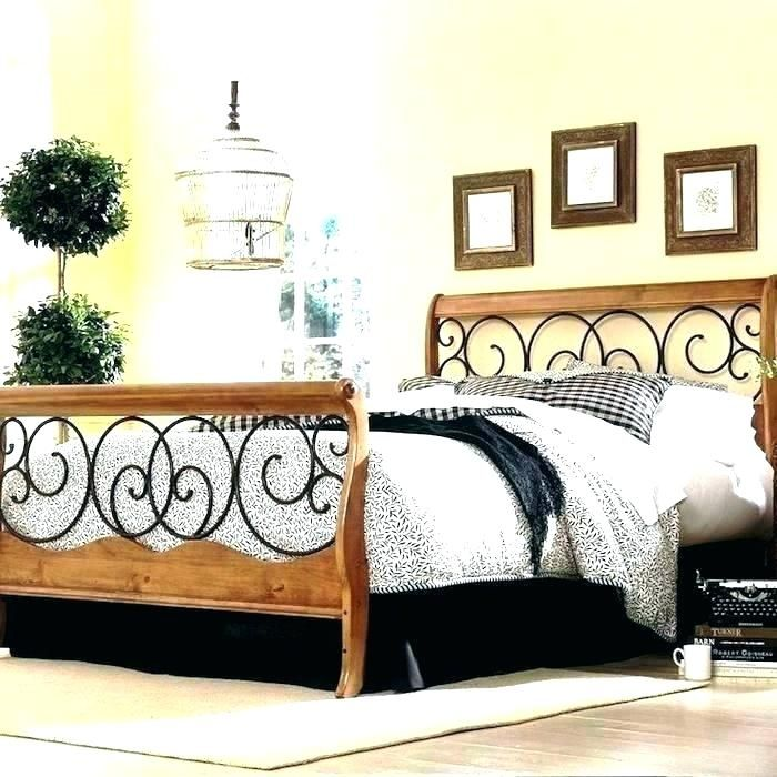 King Size Wrought Iron Bed Frame King Size Wrought Iron Headboard