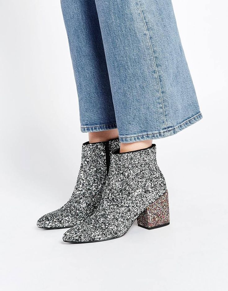 Image 1 of ASOS RADIO STAR Pointed Ankle Boots
