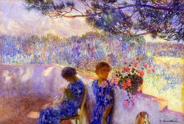 Plinio Nomellini Italian Divisionism/Neo-Impressionism