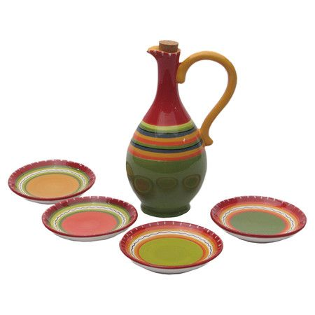 Found it at Wayfair - Hot Tamale 5 Piece Olive Oil Dipping Set http://www.wayfair.com/daily-sales/p/Finds-with-Flavor%3A-Condiment-Containers-Hot-Tamale-5-Piece-Olive-Oil-Dipping-Set~CEI1172~E19907.html?refid=SBP.rBAjD1VThOhbBgO3jAhXAn9rRdEocktWu2vxlvOBsFg