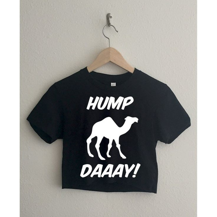 Hump Day Camel Short Sleeve Cropped T Shirt