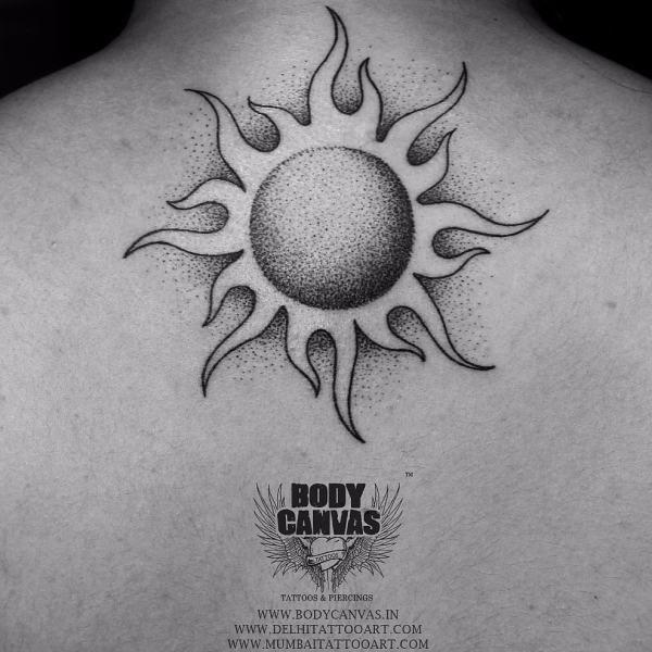 19 Best Tattoos That Brings Good Luck Charm In Life Tattoos Goodlucktattoo Sun Tattoo Designs Sun Tattoo Tribal Sun Tattoo