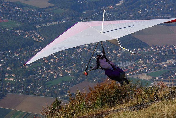 Hang gliding -