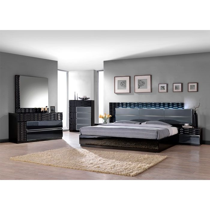 Bellissi Furniture Manhattan Bedroom Set