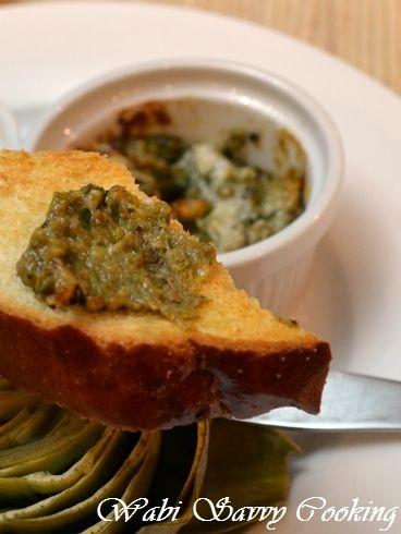 アーティチョーク with 牡蠣のグラタンディップ