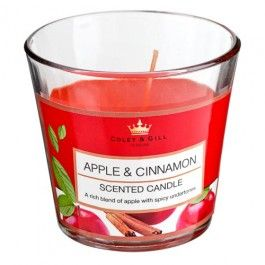 Check out our great range of Home Fragrance products, from candles and reed diffusers to scented oils and incense sticks.  All in seasonal fragrances and traditional favourites such as French Vanilla.  Our Apple and Cinnamon Conicle Candle smells delicious and offers amazing value with an approximate burn time of 30 hours.