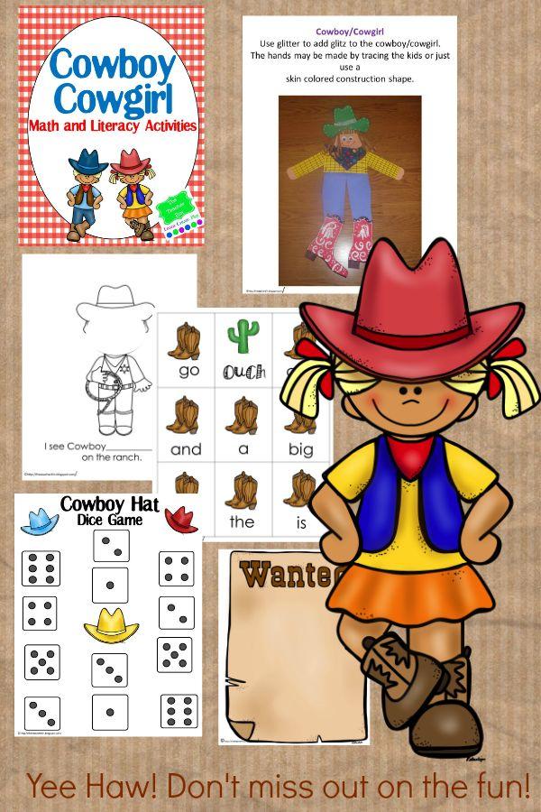 7 best wild west math images on Pinterest   Cowboy western, Western ...