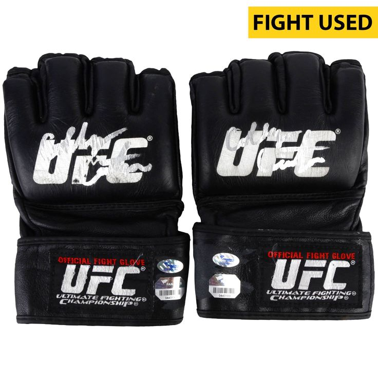 Colby Covington Ultimate Fighting Championship Fanatics Authentic Autographed UFC 187 Fight-Worn Gloves - Defeated Mike Pyle via Unanimous Decision - $679.99