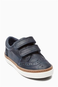 Strap Brogues (Younger Boys) (465917) | £13 - £15