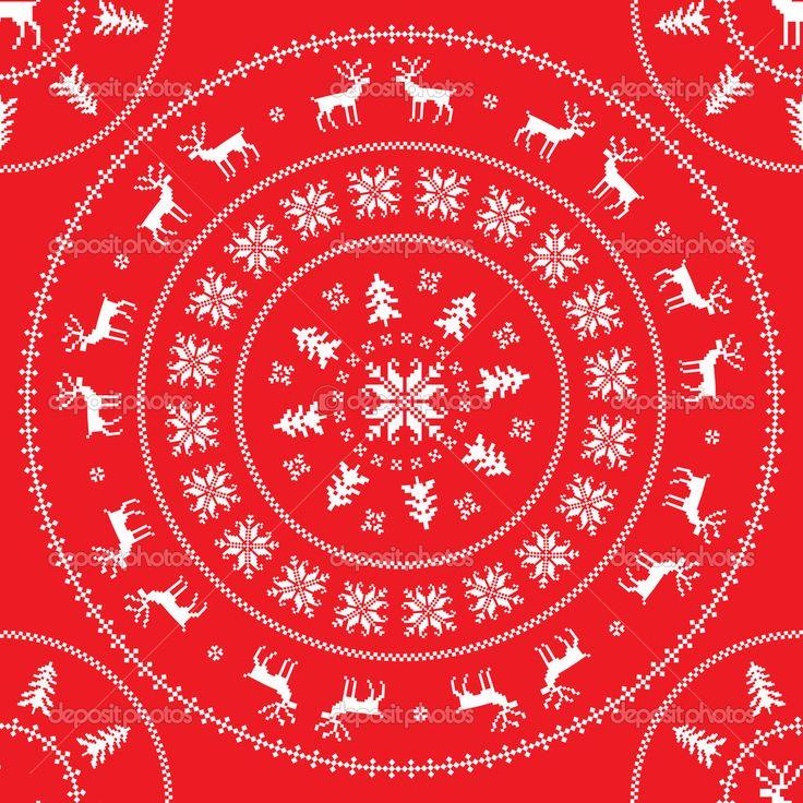 Олени Санта-Клауса или как носить традиционный зимний принт.