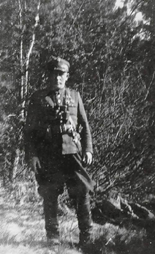 """Stanisław Miszczuk """"Kłos""""."""