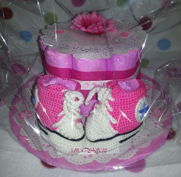 V&V CREAZIONI - l'atelier dei pannolini per vedere tutte le nostre torte, per info e prezzi, visitate la pagina  https://www.facebook.com/VeVCreazioni/ *** My diaper cakes ' page on facebbok! :)