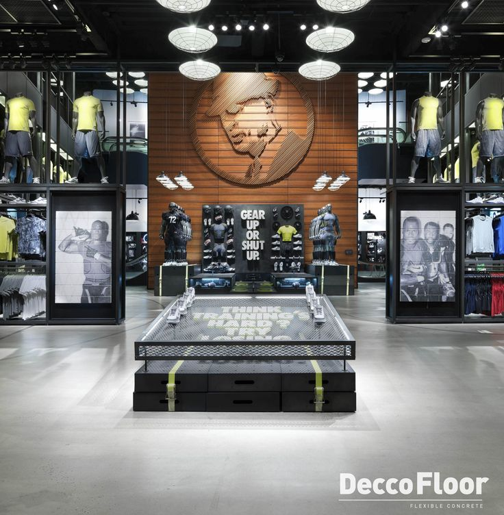 Deccofloor Rustico it's ideal for commercial areas because it does not scratch with high traffic of people.
