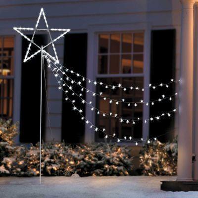 Best 25 Star christmas lights ideas on Pinterest #0: faa f897aebd7062f612c17c6 christmas yard outdoor christmas