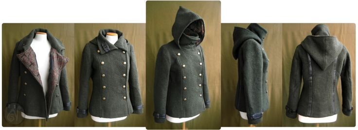 The Jacket by Nymla on deviantART--not something I could/would wear, but I wish otherwise. I like the options with this, as well as the overall style.