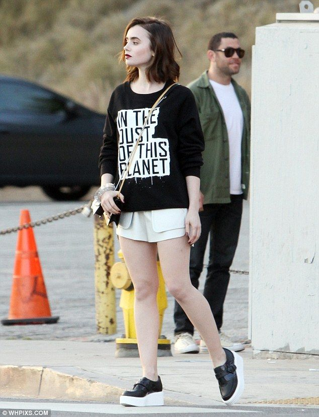 Lily Collins photo shoot in West Hollywood January 25. 2014