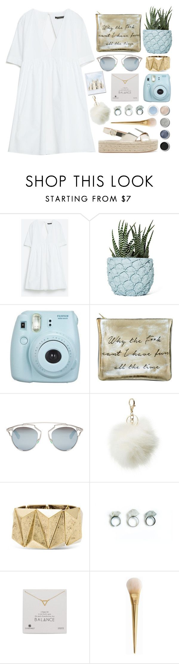 """""""I took a pill in ibiza"""" by sarase ❤ liked on Polyvore featuring Chen Chen & Kai Williams, Christian Dior, Charlotte Russe, Steve Madden, Terre Mère, Dogeared and Givenchy"""