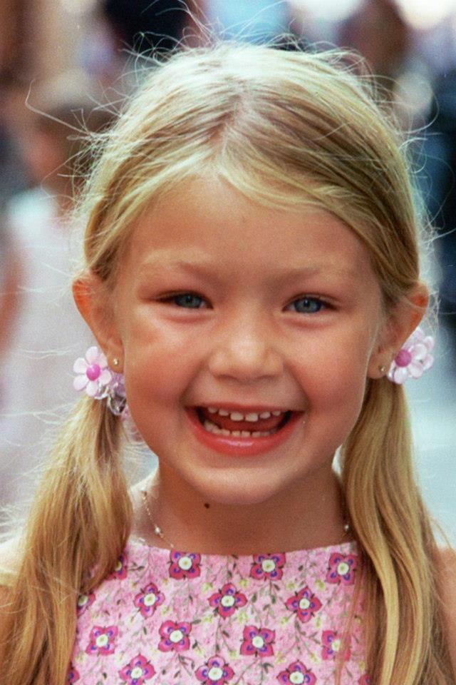 Gigi as a child ❤❤❤