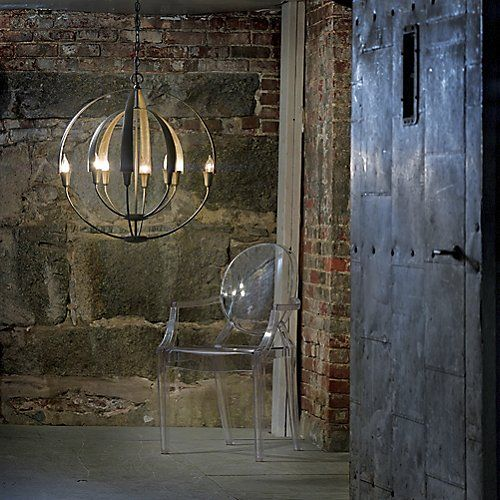 Double Cirque Chandelier by Hubbardton Forge: Cirque Chandelier, Lighting, Chandeliers, Forge 104205 07 Ls, Hubbardton Forge, Pendant Hf104205 07 Ls
