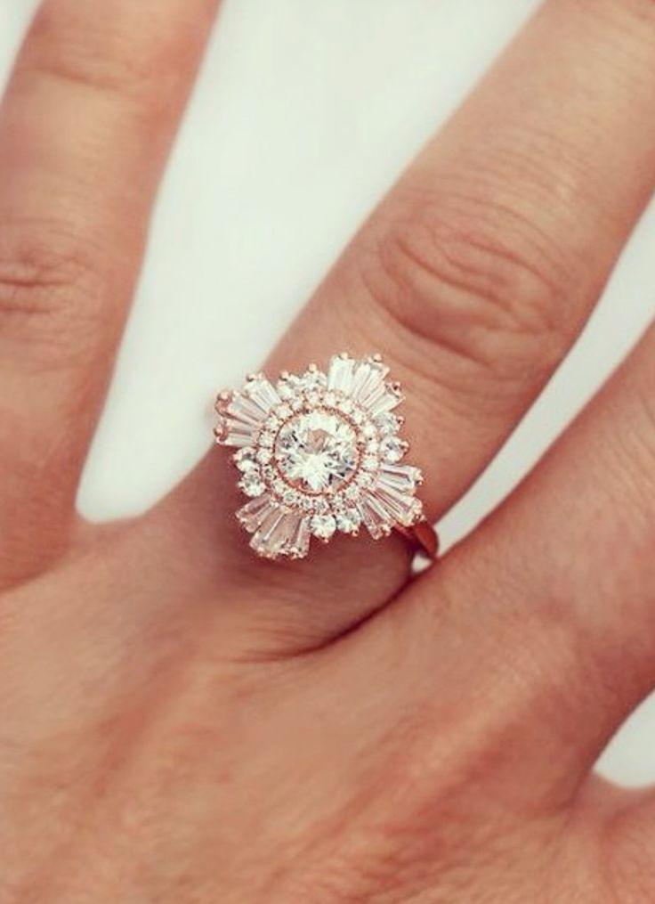 Deco diamond ring. Excuse me if I drool ...