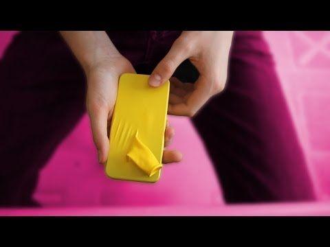 Le téléphone à travers le ballon - Explication d'un tour de magie - YouTube