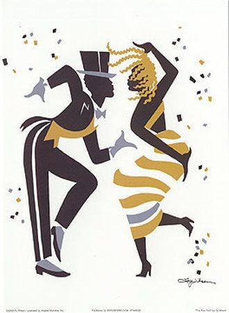 Jazzdansare (dekorativ konst) - Posters på AllPosters.se